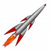 Military Rocket Icon