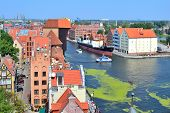 Top-view Of Gdansk