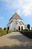 Old Round Church At Bornholm Denmark