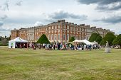 HAMPTON COURT, UK - AUGUST 03, 2014 - Family Activity Festival at Hampton Court Palace, UK on August