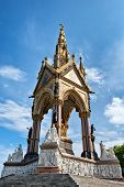 stock photo of kensington  - The Albert Memorial in Kensington Gardens - JPG