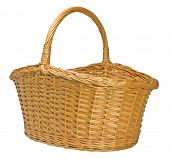 Half-split Splint Willow Wicker Basket