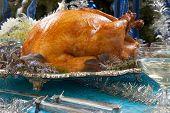 Roasted Turkey For White Christmas