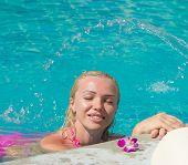 On a Hot Resort Summer Fun
