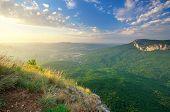 Beautiful mountain landscape. Nature composition.