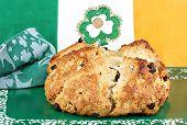 Irish Soada Bread In Irish Setting