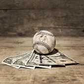 Baseball And Dollars, Concept Sport Betting
