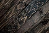 dark brown wood texture background.