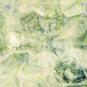 art abstract colorful chaotic waves pattern background with white, green, light yellow and blue colo