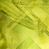 art abstract colorful geometric pattern on paper texture; grunge graphic background in green and yel