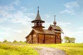 Kizhi. Old Wooden Church