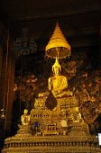 Gold Buddha Grand Hall Thailand