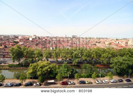 poster of Toulouse city and Midi canal