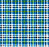 Fabric with a checked pattern in blue tones