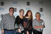 LOS ANGELES - JAN 14:  Doug Hayden, Deveney Kelly, Director, Laura Yale as the  Bold and Beautiful Celebrates 7000th Show at a CBS Television City on January 14, 2015 in Los Angeles, CA