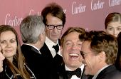 PALM SPRINGS, CA - JAN 3: Robert Downey Jr. (far right) arrives at the 2015 Palm Springs International Film Festival Gala at the Palm Springs Convention Center on January 3, 2015 in Palm Springs, CA.