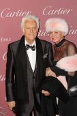 PALM SPRINGS, CA - JAN 3: Jack Jones and Eleonora Jones arrive at the 2015 Palm Springs International Film Festival Gala at the Palm Springs Convention Center on January 3, 2015 in Palm Springs, CA.