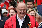 Leader Of Communist Party Of Russia Gennady Zyuganov