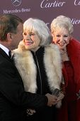 PALM SPRINGS, CA - JAN 3: Carol Channing arrives at the 2015 Palm Springs International Film Festival Awards Gala at the Palm Springs Convention Center on January 3, 2015 in Palm Springs, CA.