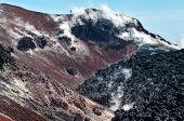 Avacha Volcano on Kamchatka ,  Russia,