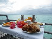 Breakfast in Bora Bora