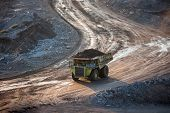 pic of dump_truck  - coal - JPG