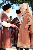 Turkish Children In National Costumes