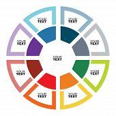 Presentation Template, Flow Concept