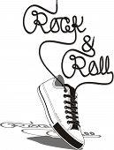 Постер, плакат: Rock & Roll