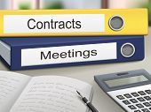 Contracts And Meetings Binders