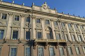 picture of palace  - The facade of the Marble Palace at the Palace Embankment in St - JPG