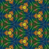 Colorful kaleidoscopic patterns for your background