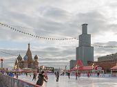 Spasskaya Tower Is Closed For Restoration