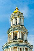 picture of kiev  - Detail of the Great Lavra Belltower - JPG
