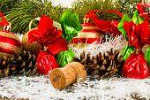 pic of pine cone  - New Year Christmas - JPG
