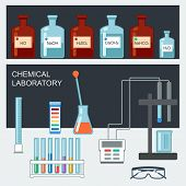pic of chemical reaction  - Chemical Laboratory - JPG