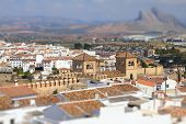 pic of tilt  - Antequera in Andalusia region of Spain - JPG