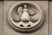 pic of building relief  - Allegory of Agriculture - JPG