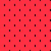 Постер, плакат: Watermelon pulp geometric pattern