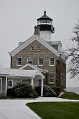 Morgan Point Lighthouse, Noank, CT  USA