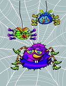 Spiders Cartoon