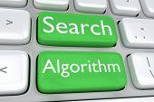 Постер, плакат: Search Algorithm Concept