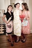 Vintage Housewives At The Ready