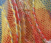 Net Of A Toy Fishing Net poster