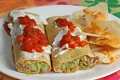 Mexican Food Wraps