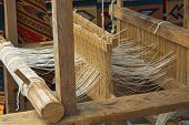 Native American Wooden Loom