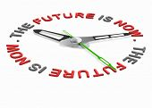future is now, live in the present not in the past. Think ahead cease the day or the opportunity. Li
