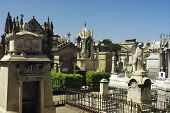 Cemetery of Poble Nou, Barcelona, Spain