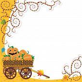 Halloween Or Autumn Background