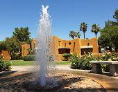 A Fountain at a Health Resort